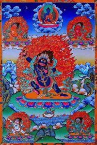 Buddha Weekly Vajrapani and akshobya Buddhism