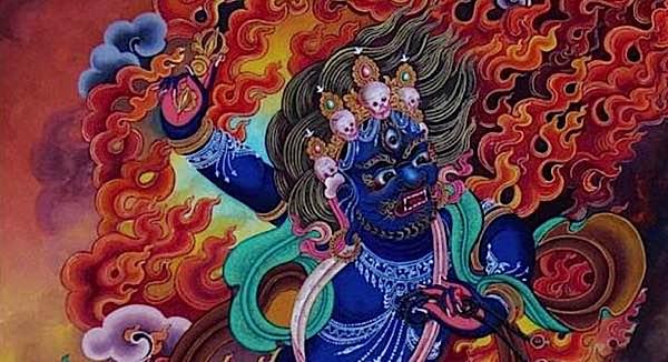 Buddha Weekly Vajrapani feature image close up Buddhism