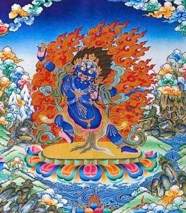 Buddha Weekly Vajrapani ferocious Buddhism