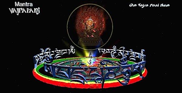 Buddha Weekly Vajrapani mantra and visualization Buddhism