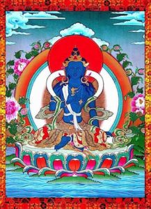 Buddha Weekly Vajrapani peaceful with vajra Buddhism