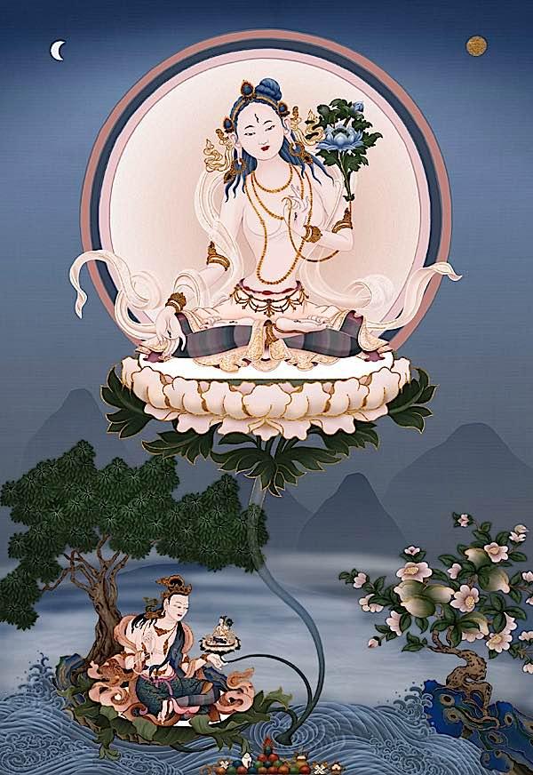 Buddha Weekly white tara lg Buddhism