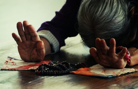 Tibetan Buddhist full prostration practice is a foundation practice.