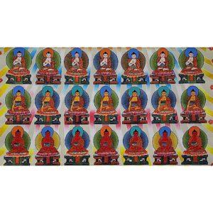 Buddha Weekly 35 Buddhas thangka Buddhism