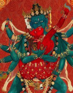 Buddha Weekly Heruka in union with Vajrayogini Buddhism