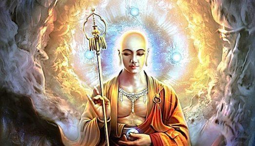 Buddha Weekly Ksitigarbha with wish fulfilling gem Buddhism 1