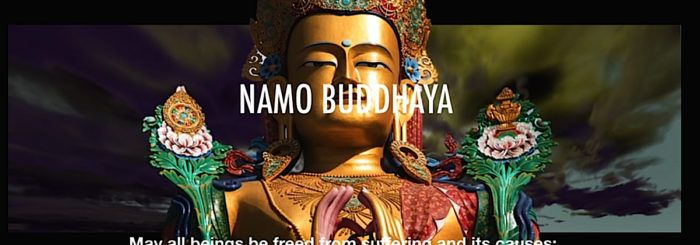 Music Mantra Video: Taking Refuge in Buddha, Dharma and Sangha and the Four Immeasurables wonderfully sung by Yoko Dharma with video visualizations