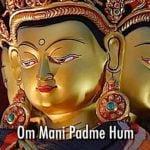 Buddha Weekly Om Mani Padme Hum Mantra chanted Yoko Dharma mantra of Chenrezig Buddhism