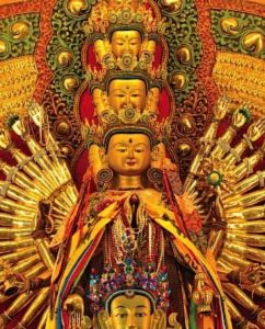 Buddha Weekly Thousand Arm Chenrezig largest in singapore at 2.3 meters Buddhism