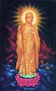 Buddha Weekly Traditional Chinese style Ksitigarbha Buddhism