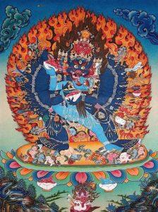 Buddha Weekly Yamantaka with consort yabyum Buddhism