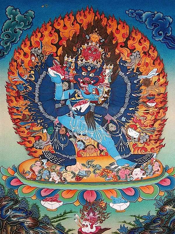 What's with all this consort union in Tantric Buddhism? No