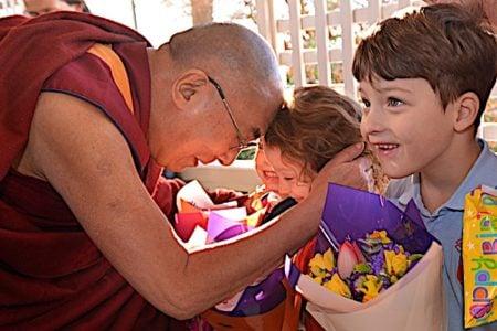 Buddha Weekly Dalai Lama and children Buddhism
