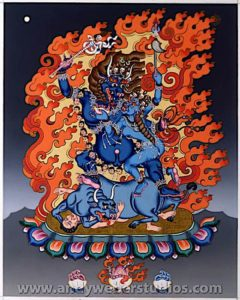 Buddha Weekly 2 Armed Yamantaka Buddhism