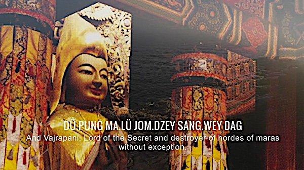 Buddha Weekly 3 Du Pung Ma Lu Jom Dzey Sang Way Daga Lama Tsongkhapa mantra Buddhism
