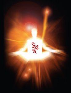 Buddha Weekly Body filled with white light Buddhism