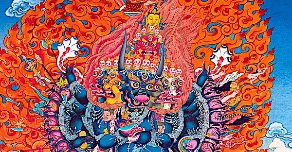 Buddha Weekly Closeup Yamantaka 36 arm Buddhism