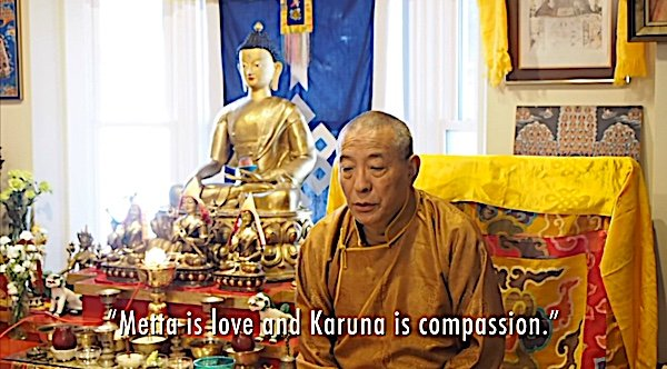 Buddha Weekly Feature image Metta and Karuna Love and Compassion teaching video with Zasep Tulku Rinpoche Buddhism