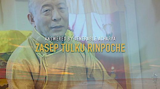 Buddha Weekly Features an answer by Venerable Acharya Zasep Tulku Rinpoche Buddhism