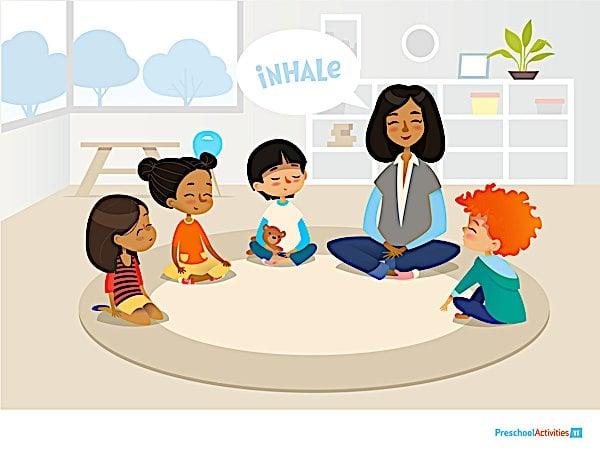 Buddha Weekly Meditating in the classroom Buddhism