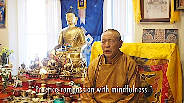 Buddha Weekly Practice Compassion with mindfulness Zasep rinpoche Buddhism