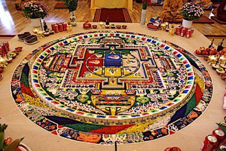 Buddha Weekly Sand Mandala Yamantaka Buddhism