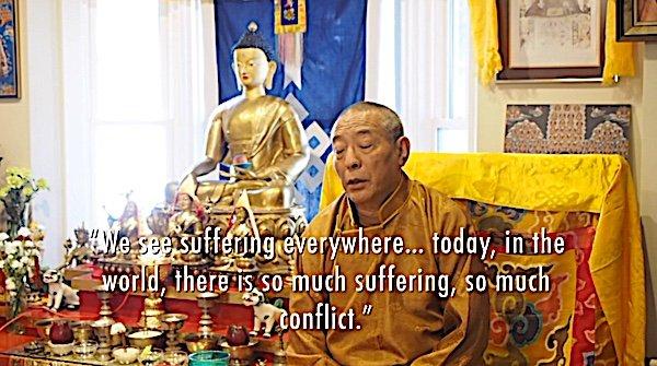 Buddha Weekly Suffering Everywhere Zasep Rinpoche Buddhism
