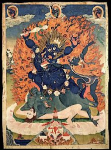 Buddha Weekly Vajrabhairava two armed yamantaka Buddhism