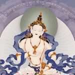 Buddha Weekly Vajrasattva feature image with mantra by Jampay Dorje Buddhism