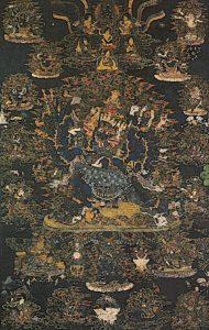 Buddha Weekly YAMANTAKA FULL THANKA BITMAP Buddhism