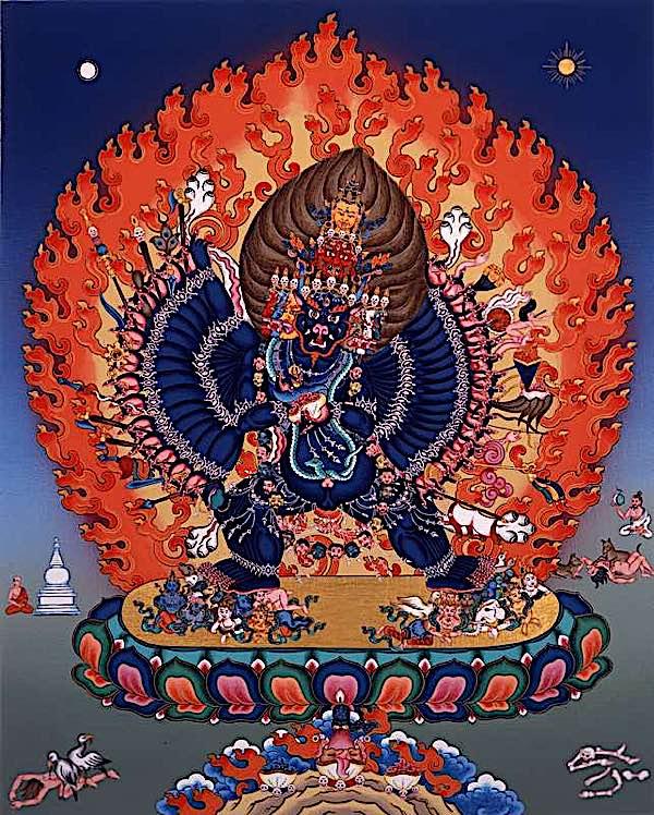 Buddha Weekly Yamantaka ferocious Buddhism