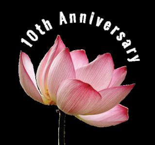 BUDDHA WEEKLY lotus 10th anniversary 300
