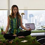 Meditation in the office can make you more productive. Mindfulness during a meeting can result in fewer mistakes. Breathing meditation can calm the stress that inhibits innovation and enthusiasm.