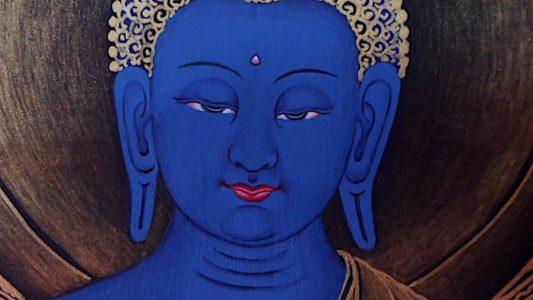 Buddha Weekly Medicine Buddha Sutra beautiful face Buddhism