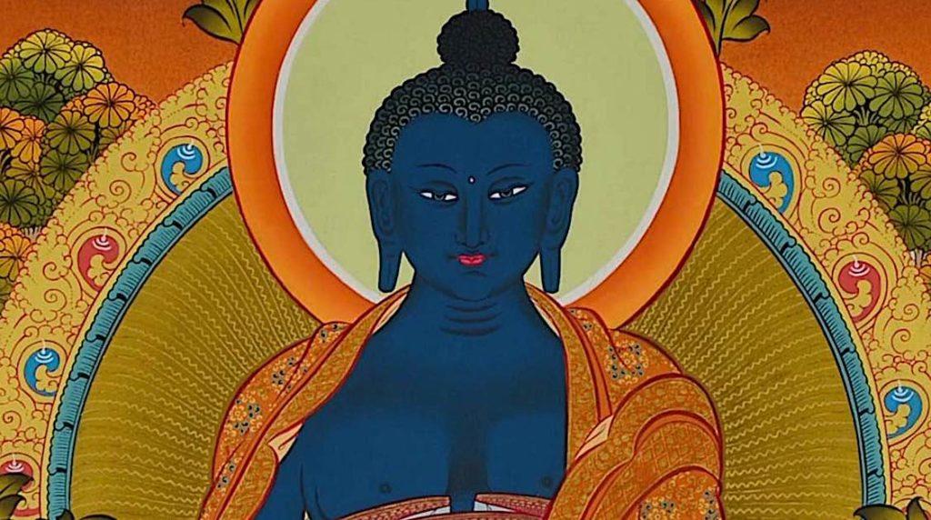 Buddha Weekly Medicine Buddha Sutra close up of Buddha Buddhism
