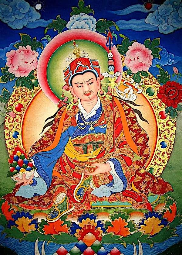 Buddha Weekly Padmasambhava beautiful with gold Buddhism