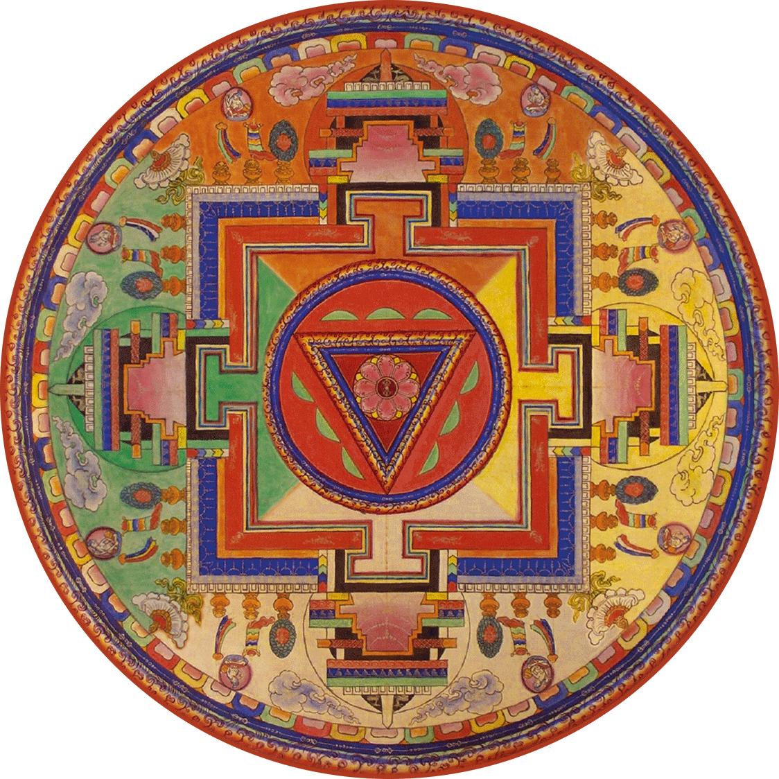 4 086 Hayagriva Old Mandala