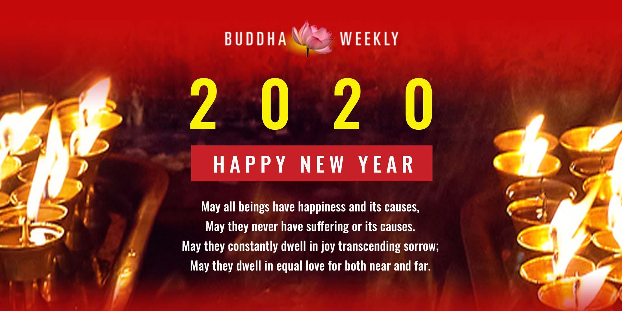 BUDDHA WEEKLY NEW YEAR 2020