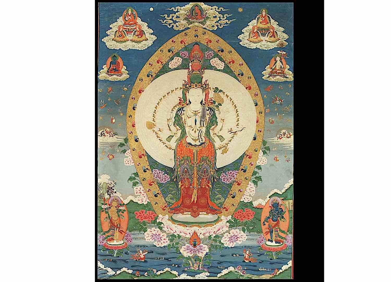 Buddha Weekly 1000 Armed Avalokiteshvara Tibetan Rubin Museum Buddhism