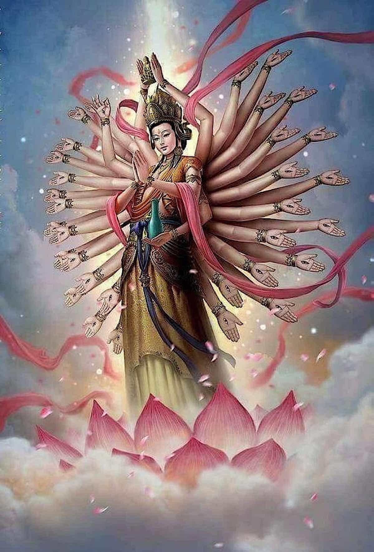Buddha Weekly 1000 Armed Kuan Yin beautiful modern Buddhism