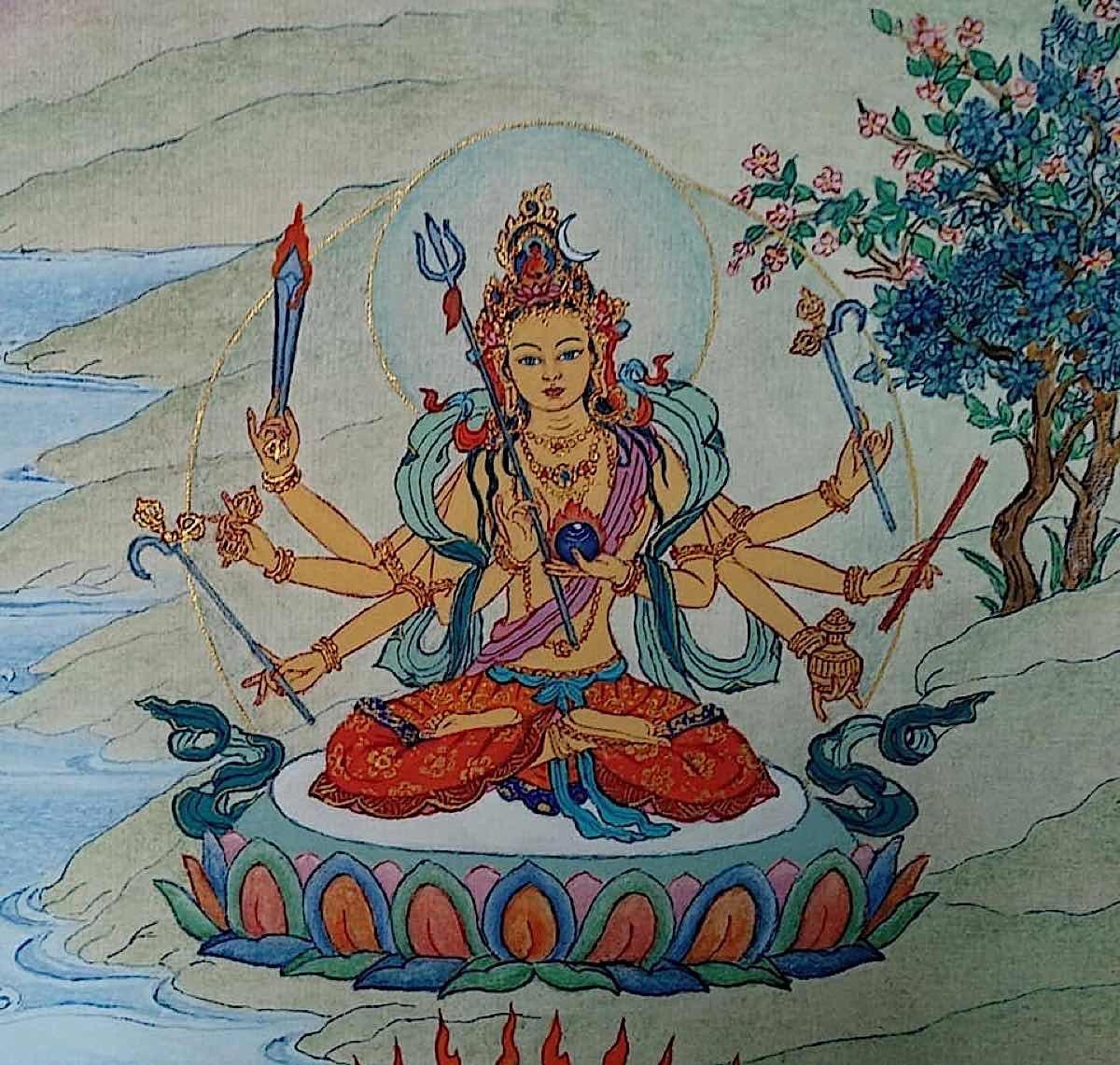 Buddha Weekly 12 Tara Giver of All Prosperity Kalyana da Tara Mangaloka Tara 21 Taras Thankha by Angeli Lhadripa Shkonda Buddhism