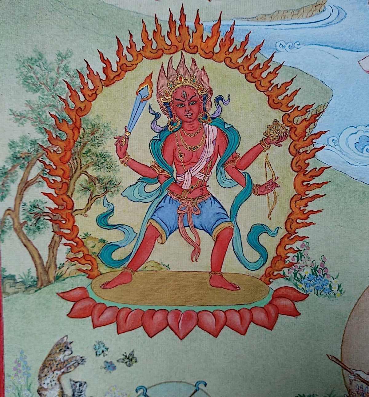 Buddha Weekly 13 Tara the Ripener Paripacaka Tara 21 Taras Thankha by Angeli Lhadripa Shkonda Buddhism