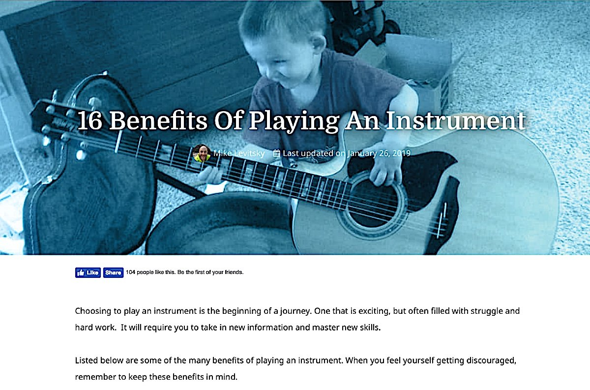 Buddha Weekly 16 benefits of Playing an Instrument drums and guitar Buddhism