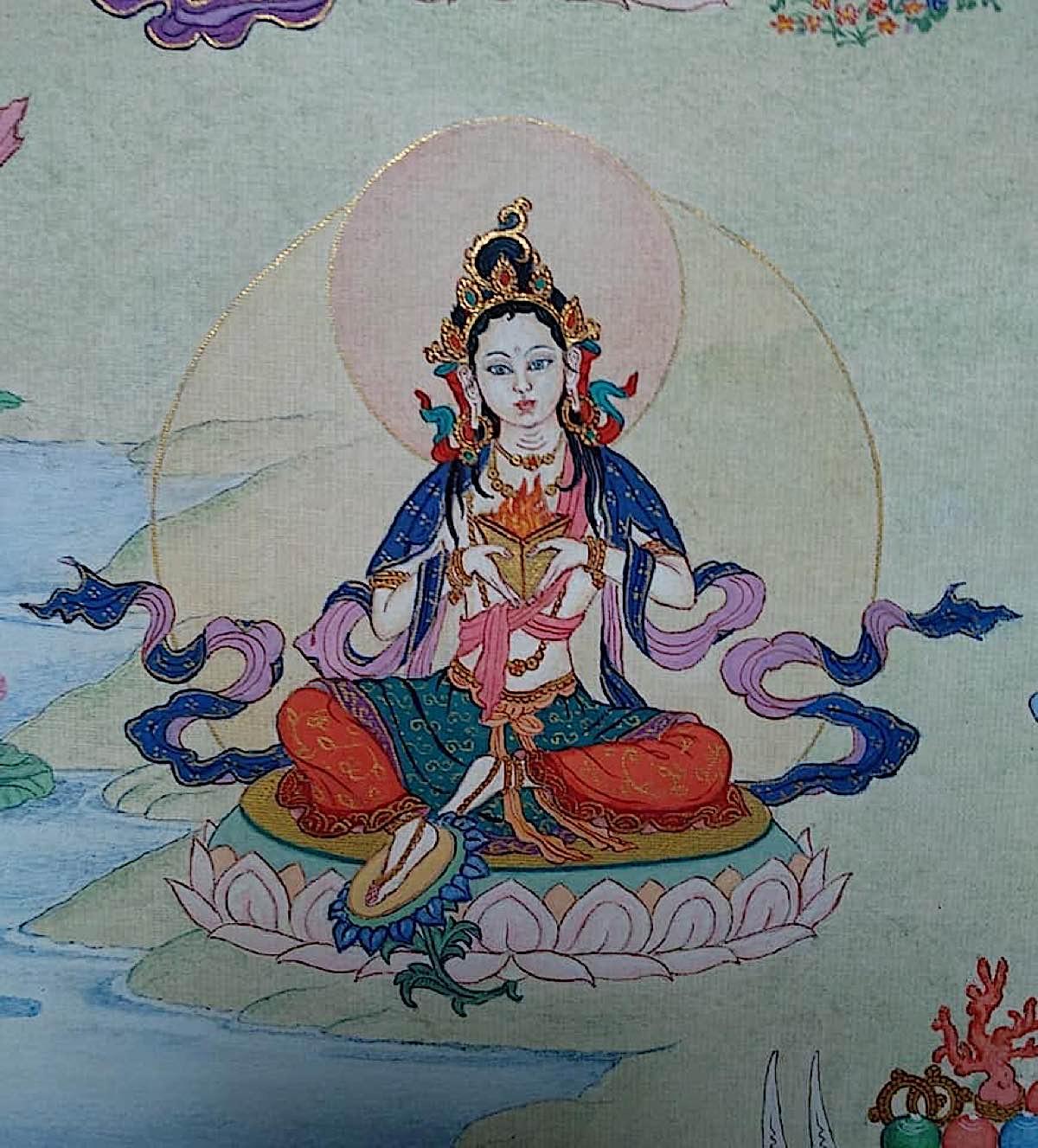 Buddha Weekly 19 Tara Consumer of All Suffering Dukha Dahana Tara 21 Taras Thankha by Angeli Lhadripa Shkonda Buddhism