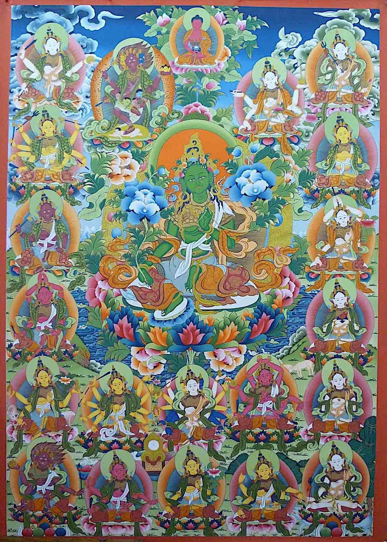 Buddha Weekly 21 Tar surya Gupta beautiful image all together Buddhism