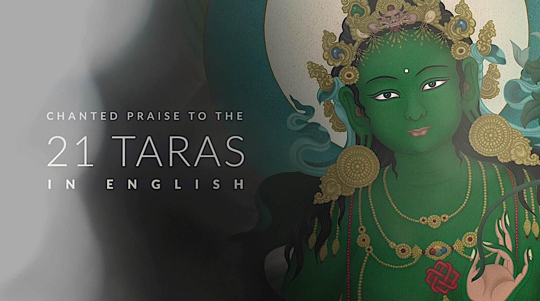 Buddha Weekly 21 Taras in English praise Buddhism