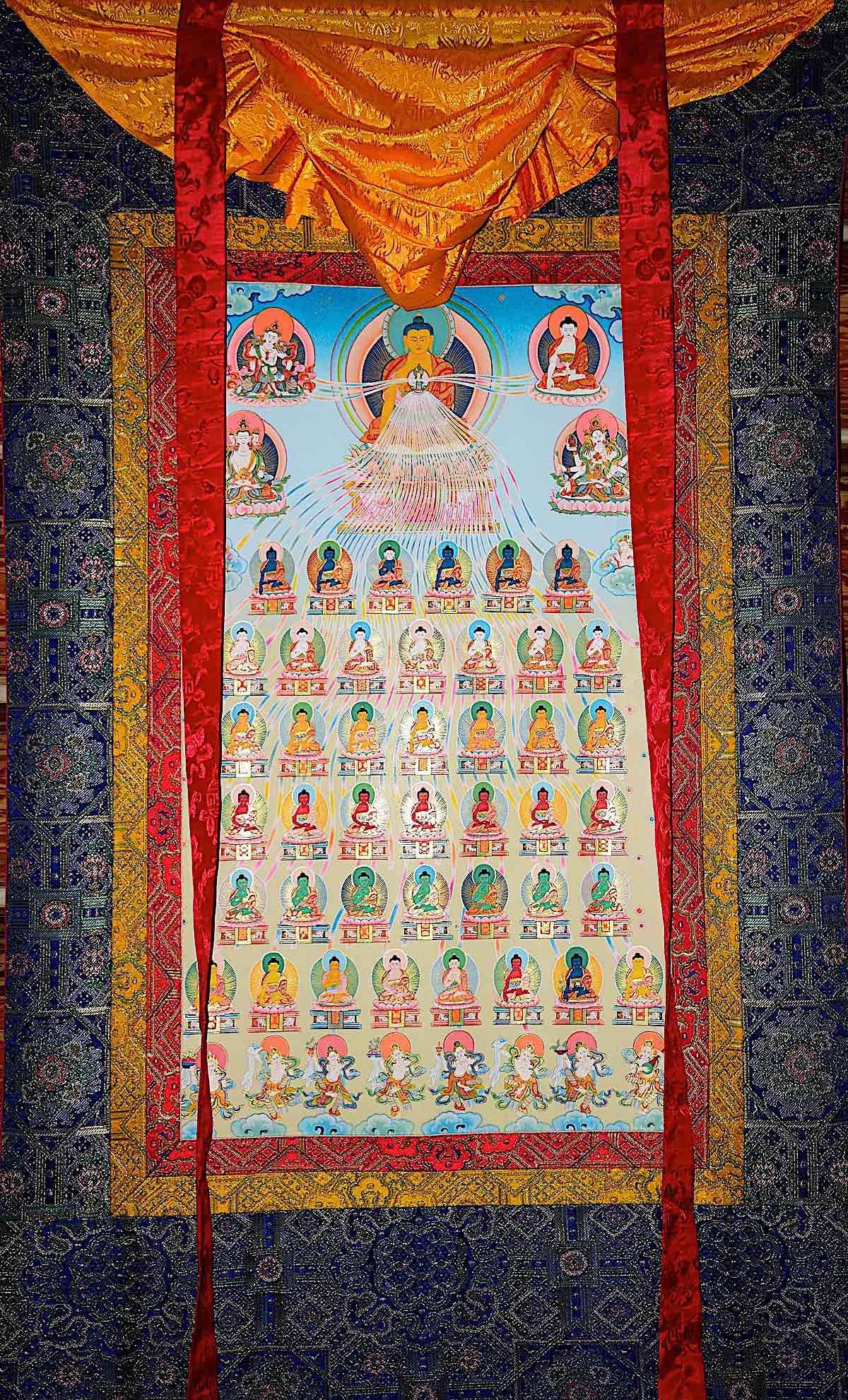 Buddha Weekly 35Buddhas tshaw Buddhism