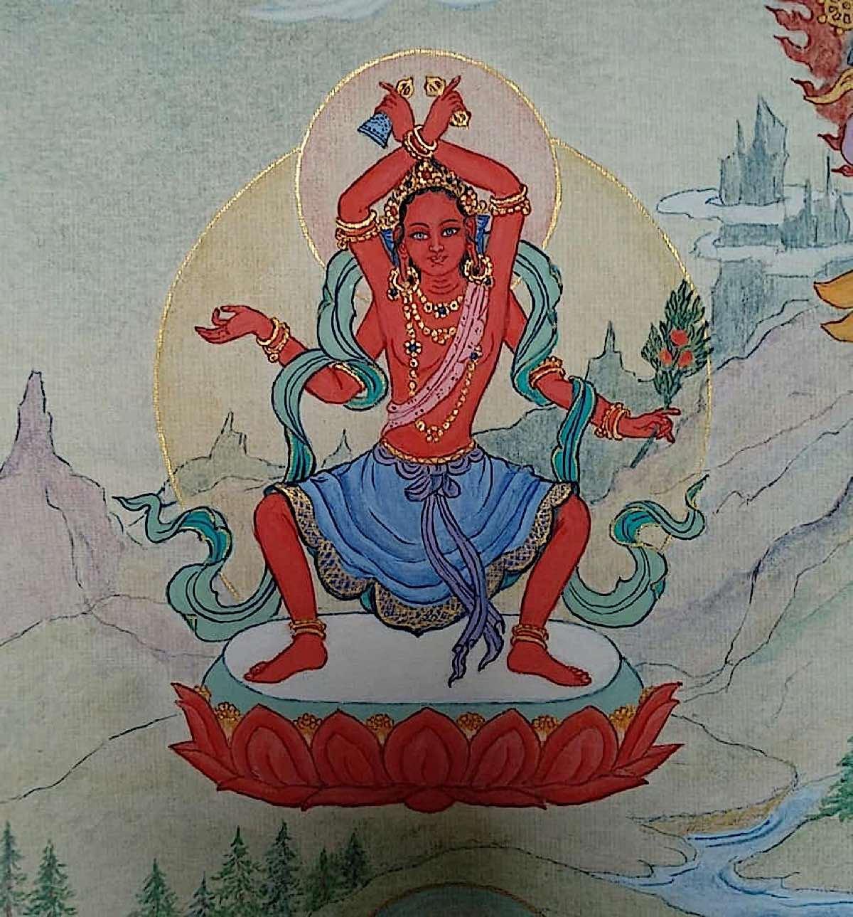 Buddha Weekly 9 Tara Granter of Boons Vara da Tara 21 Taras Thankha by Angeli Lhadripa Shkonda Buddhism