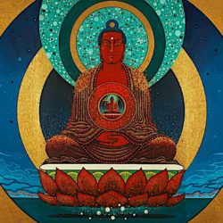 Amitabha Buddha of Infinite Light: what's in a name? His merits are so vast, the very name of Amitabha is a practice — and synonymous with compassion and happiness