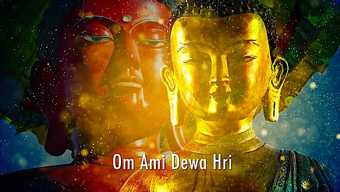 Buddha Weekly Amitabha Buddha mantra Om Ami Dewa Hri Buddhism 1